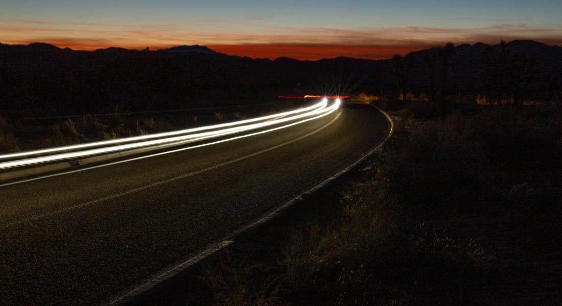 gabe pierce e7bkFW3LIPQ unsplash 1100x600 - 4 Tips for You and Your Fleet to Drive Safer at Night